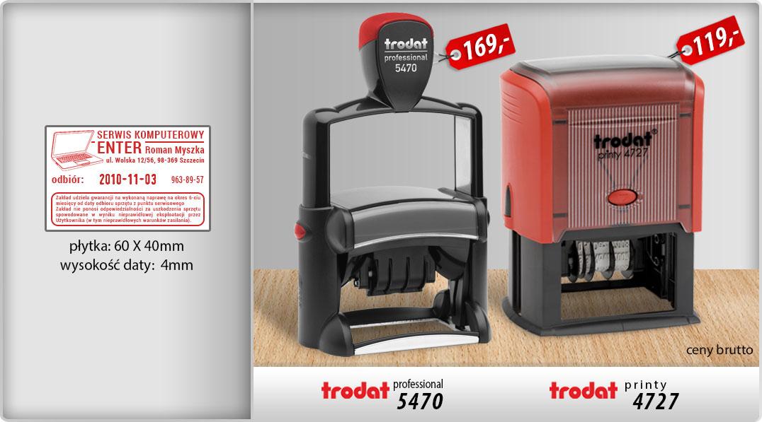 Datownik Trodat Professional 5470 i Trodat Printy 4727
