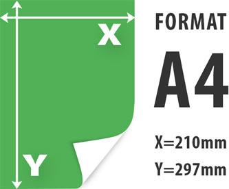 drukowanie ksero A4 - szybka realizacja