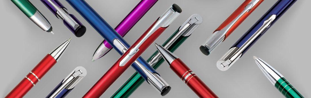 grawerowane długopisy reklamowe z twoim logiem
